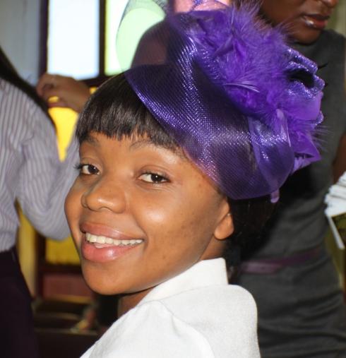 Nzala, just before a God's Envoys concert.