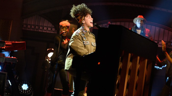 Alicia Keys on NBC's SNL